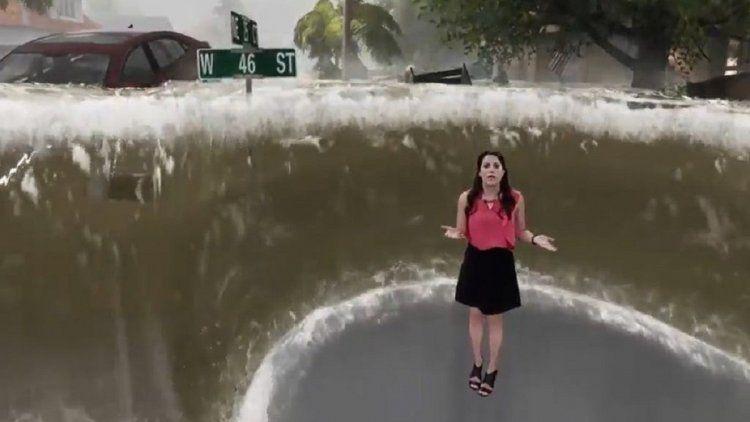 La animación de The Weather Channel se volvió viral