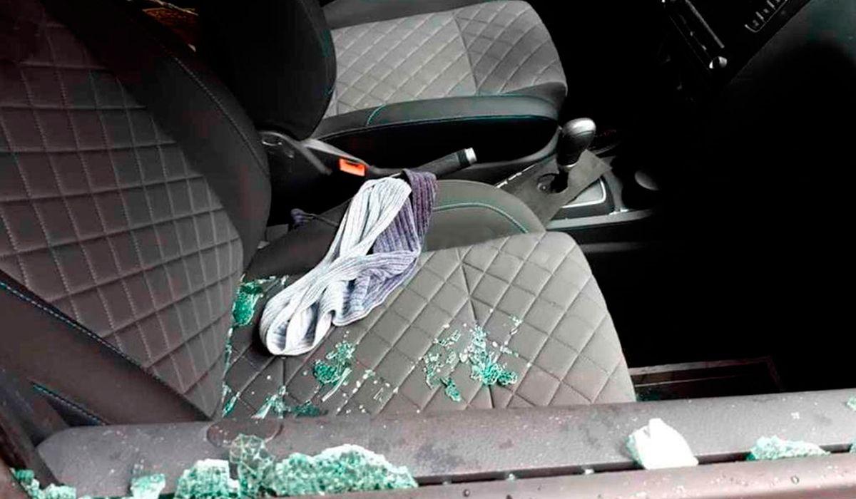 Este es el auto donde mataron a la abogada por encargo