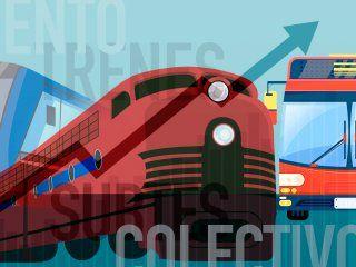 por los tarifazos, se destina cuatro veces mas del sueldo al transporte que en 2015
