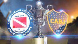 Argentinos Juniors vs Boca: formaciones