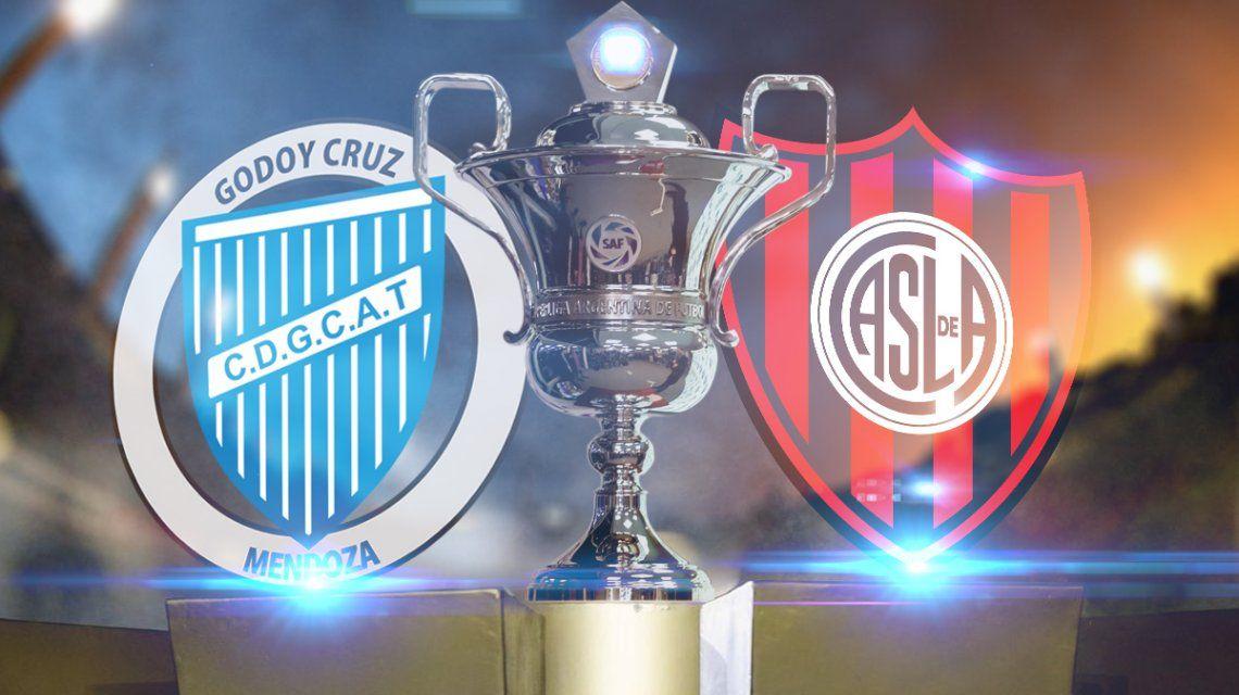 Godoy Cruz vs San Lorenzo: formaciones, horario y TV