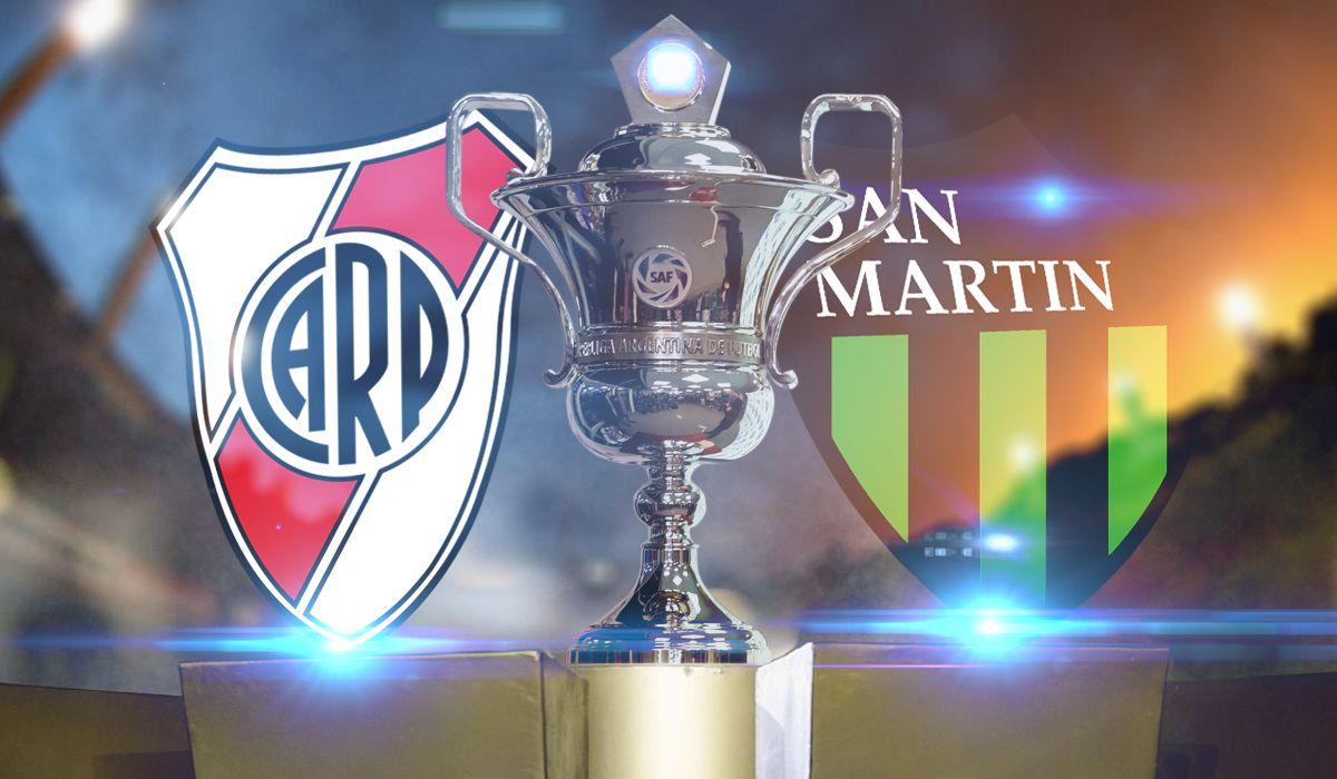 En la previa del Superclásico, River goleó a San Martín de San Juan