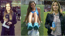 Antonella Valderrey, Luciana Rubisnka y Ángela Lerena son referentes en el periodismo deportivo
