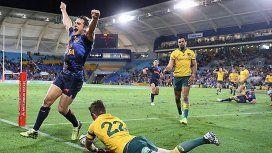 Los Pumas lograron un histórico triunfo en Australia