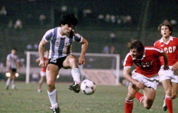 Fotos inéditas de Maradona en el Mundial Juvenil de 1979