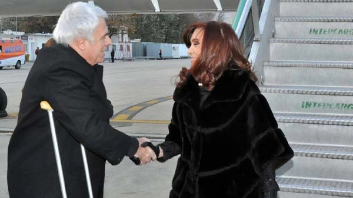 José Manuel De la Sota y Cristina Kirchner (foto archivo 2013)