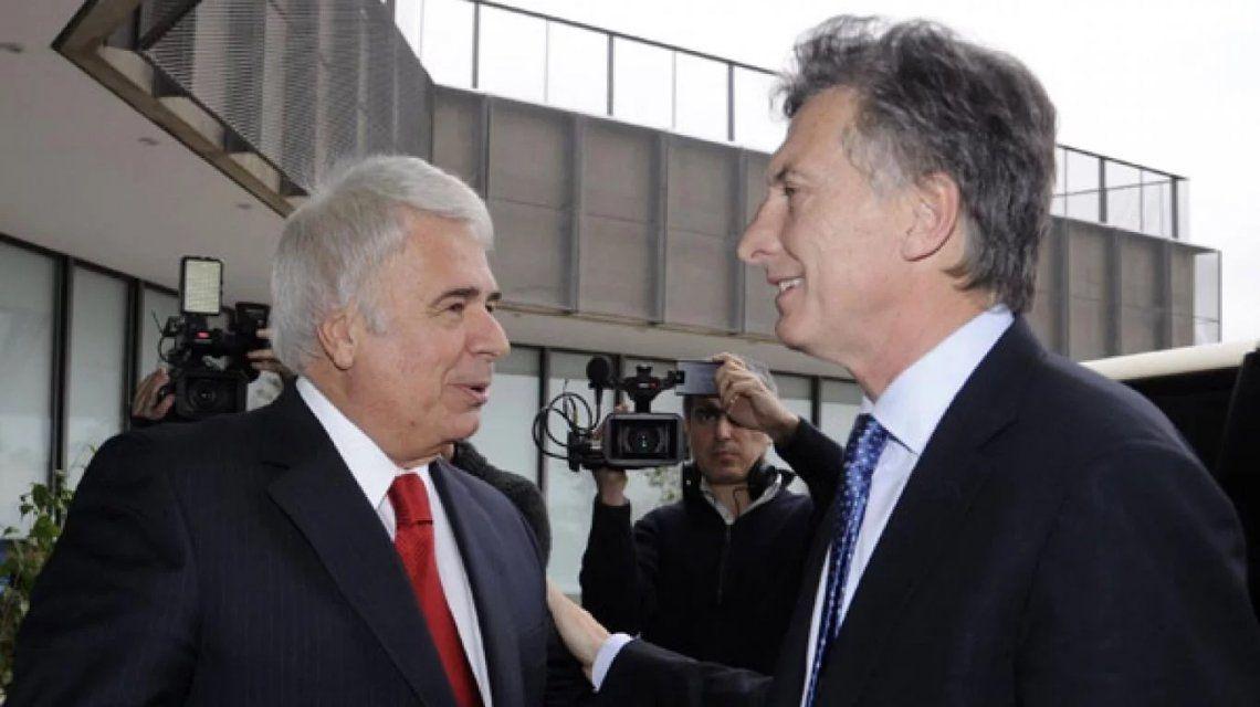 José Manuel De la Sota y Mauricio Macri (foto de archivo)