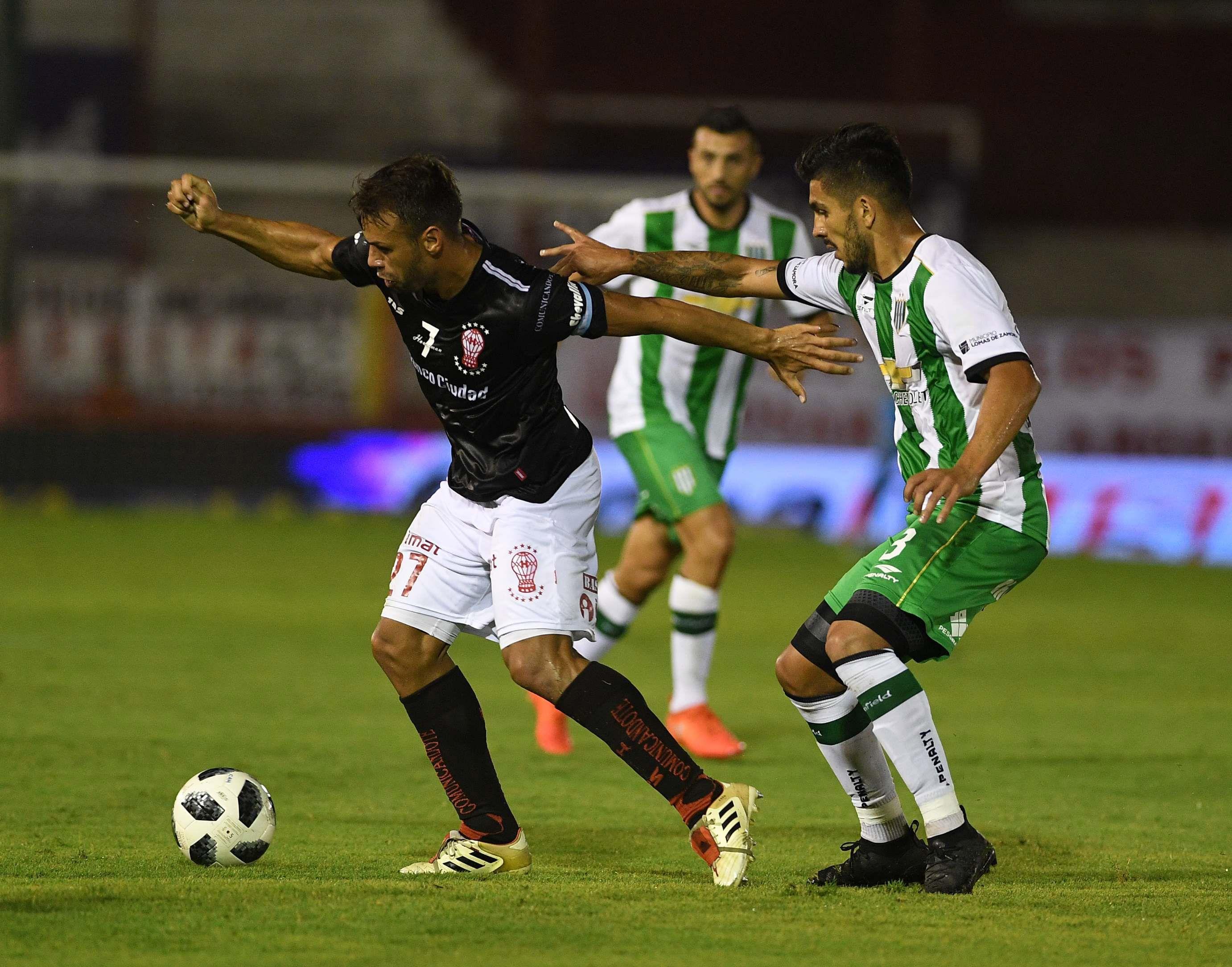 Huracán y Banfield jugaron por la fecha 21 de la última Superliga