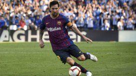 Lionel Messi es desde esta temporada el capitán del Barcelona