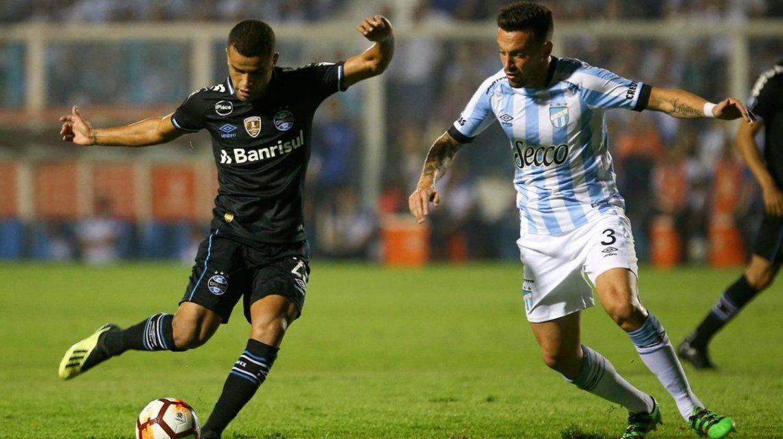 Atlético Tucumán cayó ante Gremio de Brasil