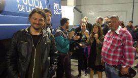Juan Grabois salió aplaudido de la Comisaría 18 tras su liberación