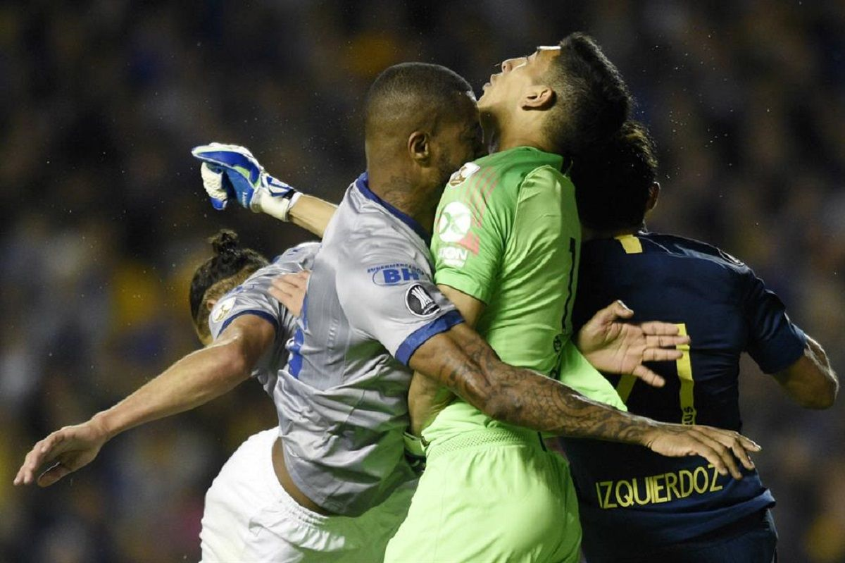 Andrada quedó afuera del Superclásico: se rompió la mandíbula