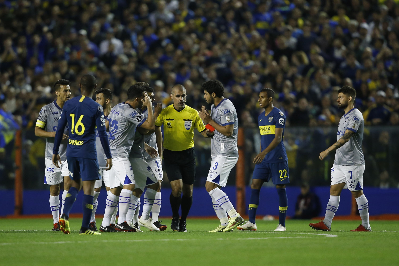 Un jugador de Cruzeiro calienta la vuelta de la Copa: Le vamos a hacer cuatro a Boca