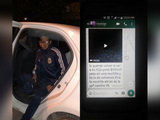 El joven de 20 años simuló su propio secuestro