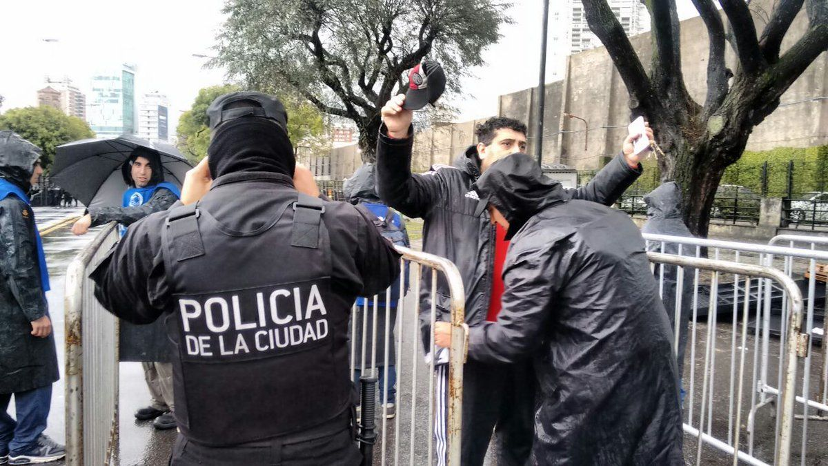 Operativo de seguridad de la Policía de la Ciudad - Crédito:@Policia_ciudad