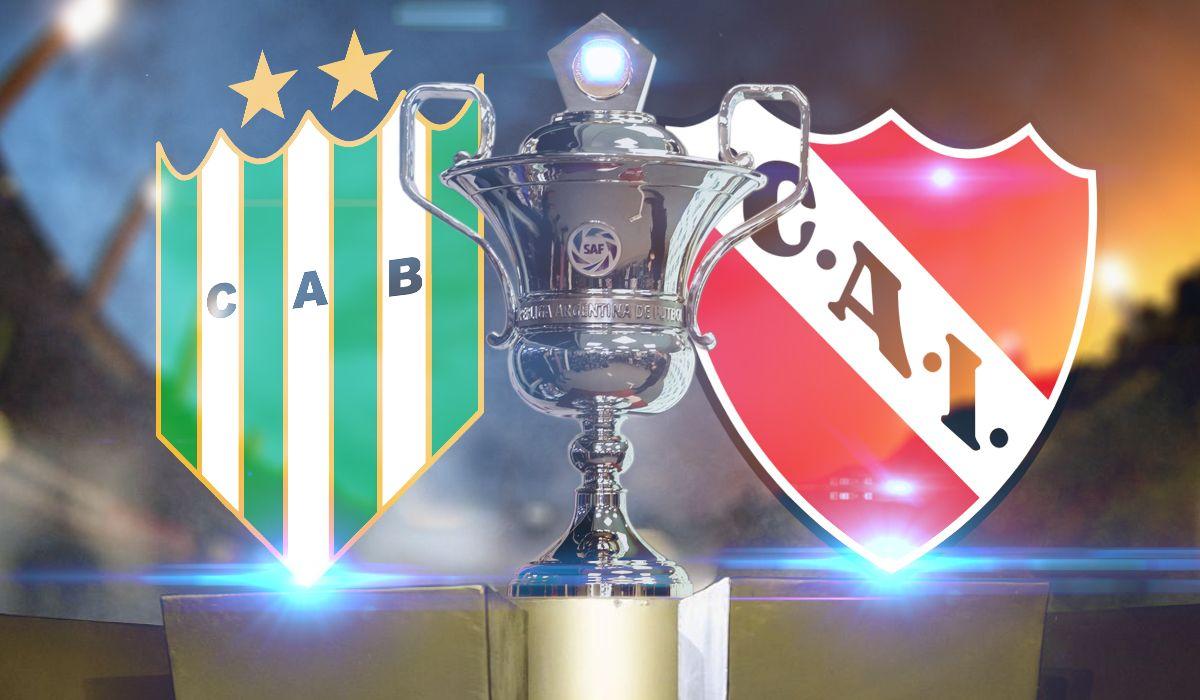 Banfield vs Independiente: formaciones, horario y TV