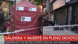 Asesinaron a un militar en una salidera en Villa Devoto