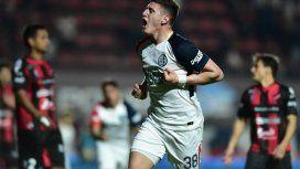 Gol de Gaich para San Lorenzo ante Patronato - Crédito: @SanLorenzo