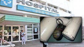 Hallaron una granada en el Hospital Paroissien
