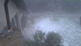 Alerta meteorológico: tormenta y granizo en Mar del Plata