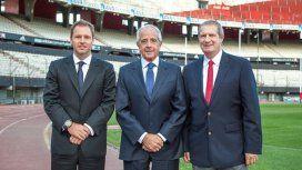 De izquierda a derecha: Jorge Pablo Brito, Rodolfo D´Onofrio y Guillermo Antonio Cascio