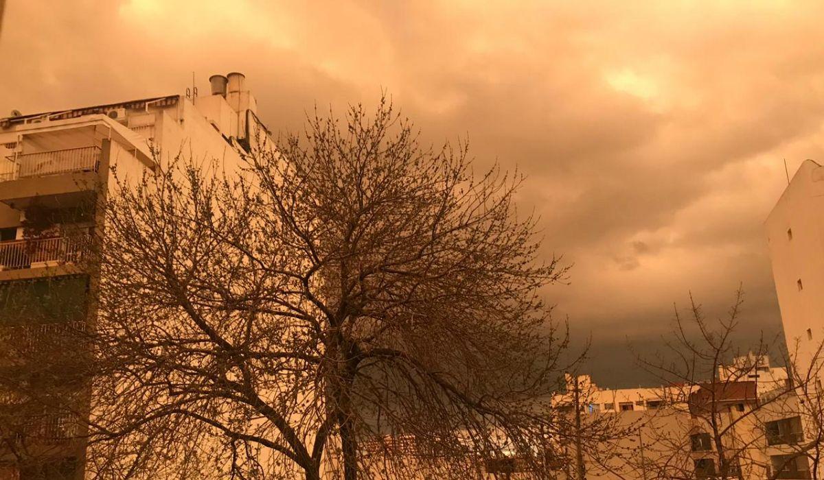 El día que el cielo de Buenos Aires se volvió sepia