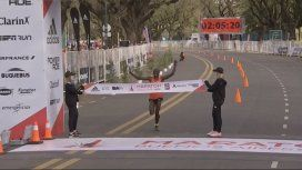 Un keniata ganó la Maratón de Buenos Aires con nuevo récord