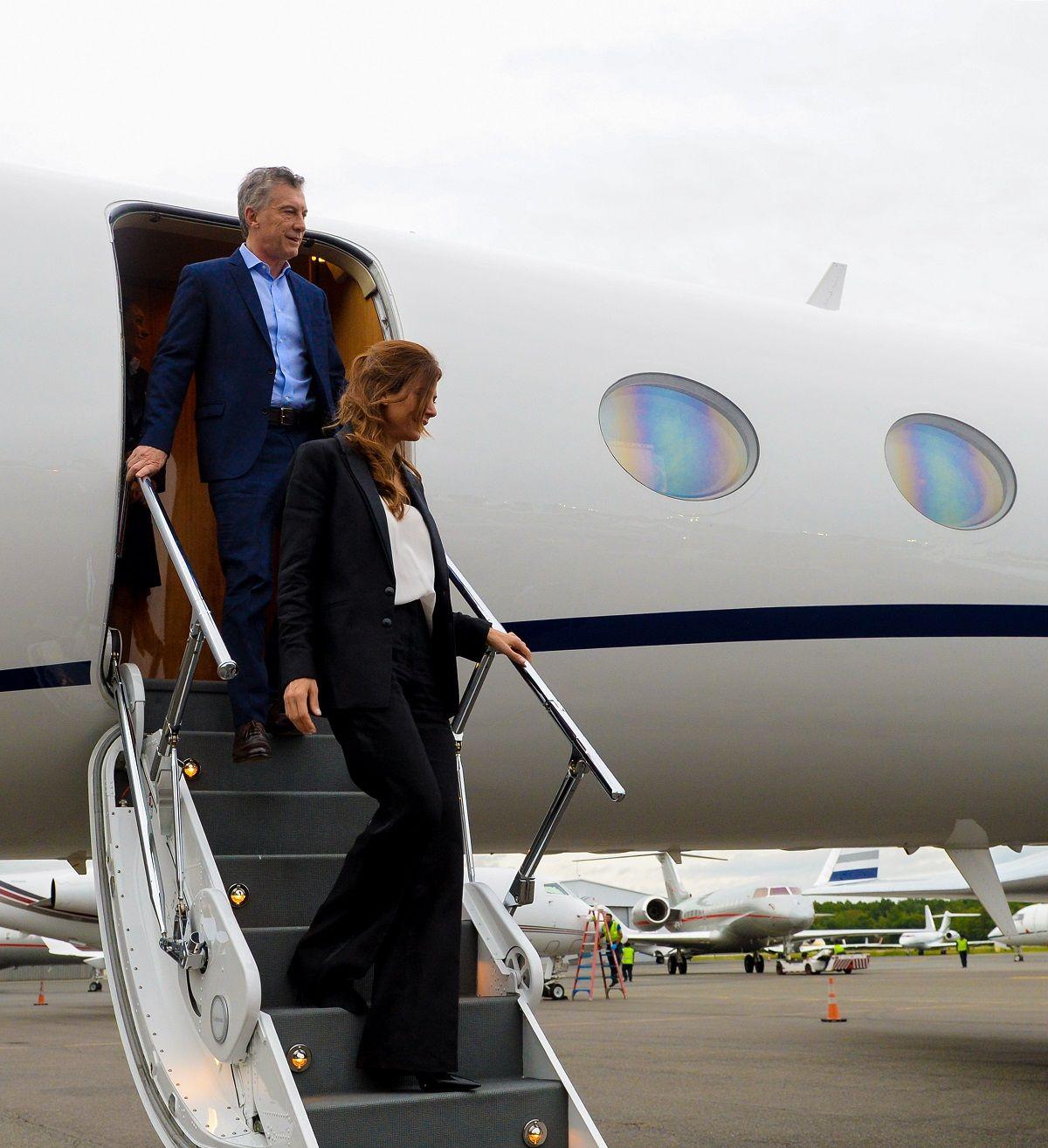 Macri llegó a Nueva York para participar en la cumbre de la ONU