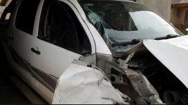 VIDEO: Así fue cómo una camioneta atropelló y mató a un ciclista en Zárate