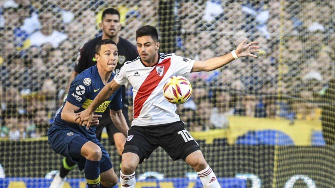 Pity Martínez metió el gol y salió lesionado