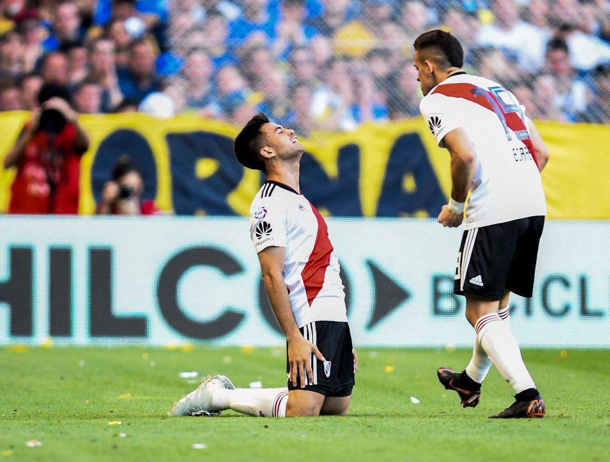 El Pity Martínez la estaba rompiendo hasta que se lesionó