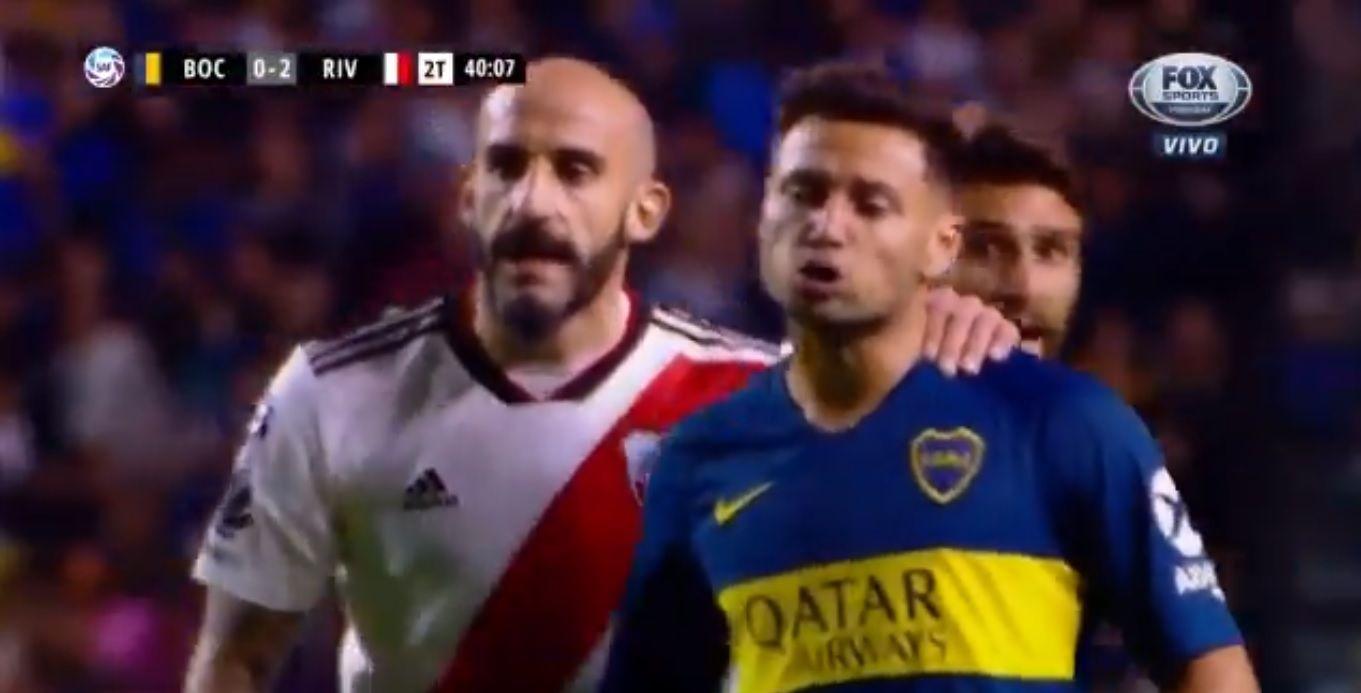 La pelea entre Cardona y Mauro Zárate: ¡Pinola tuvo que separarlos!