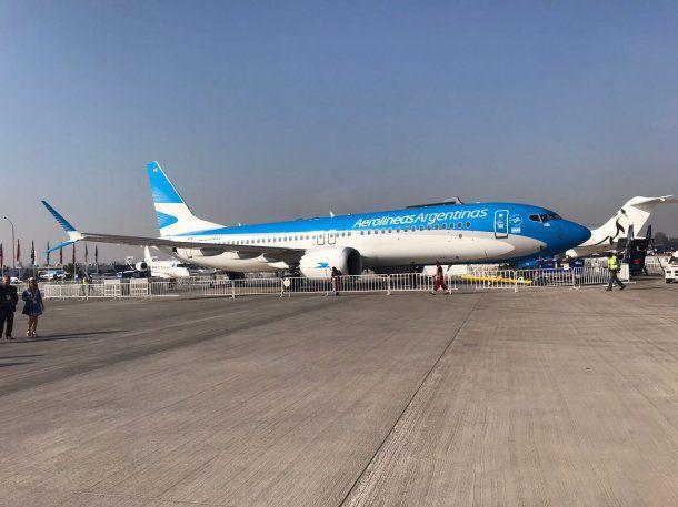 Aerolíneas Argentinas canceló todos los vuelos programados para este martes.