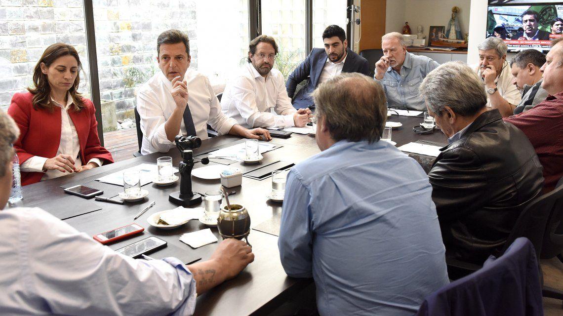 Massa, antes del paro: El Gobierno se tiene que bajar del pedestal de la soberbia y juntarse con los sindicatos