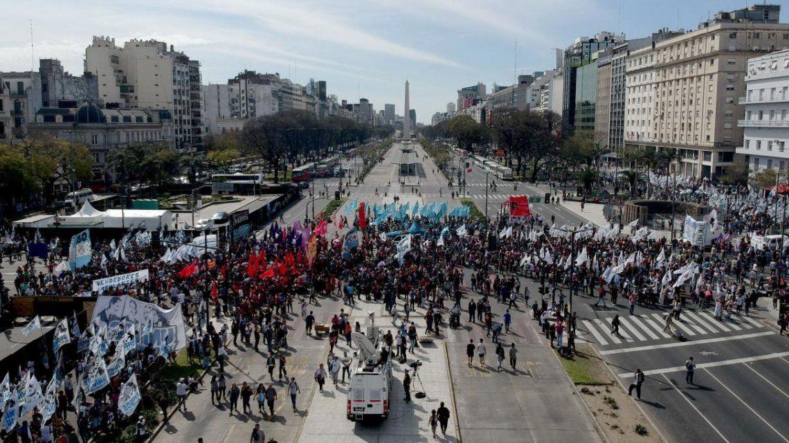 Cuarto paro general en la era Macri: así serán todos los cortes y movilizaciones