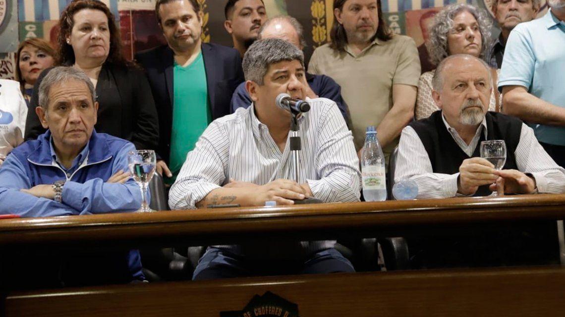 Pablo Moyano: No creo que hagan el show de querer detenerme en Ezeiza