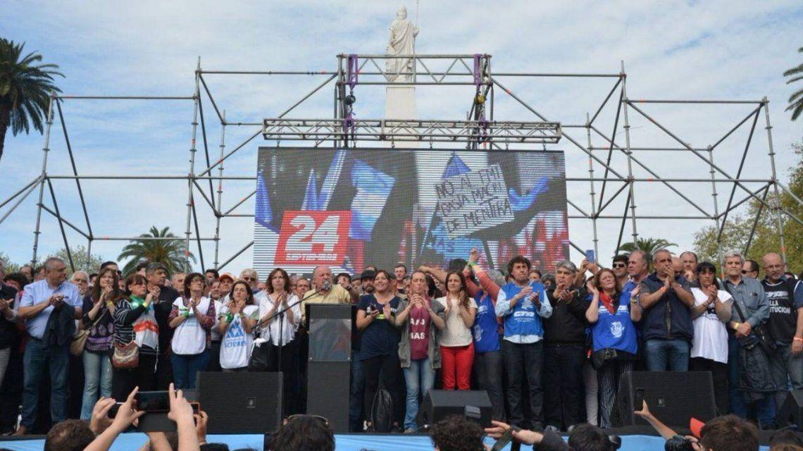 Hugo Yasky y Pablo Micheli lideran las CTA
