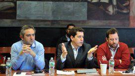 Andrés El Cuervo Larroque, Eduardo Wado De Pedro y José Ottavis