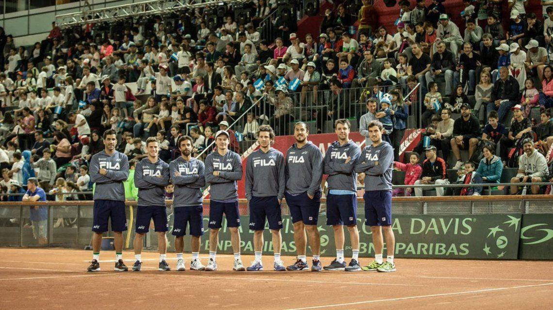 Copa Davis: Argentina recibió una invitación y jugará la fase final de 2019