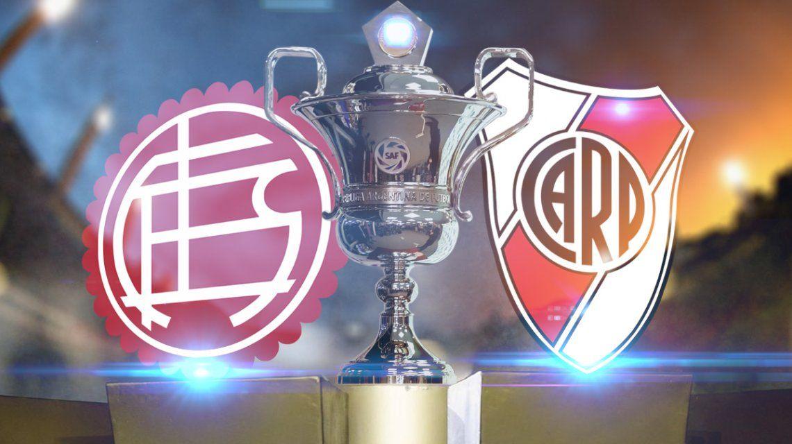 Lanús vs. River por la Superliga: horario, formaciones y TV