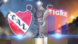 Independiente vs. Tigre por la Superliga: horario