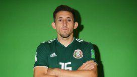 Héctor Herrera antes de la cirugía estética
