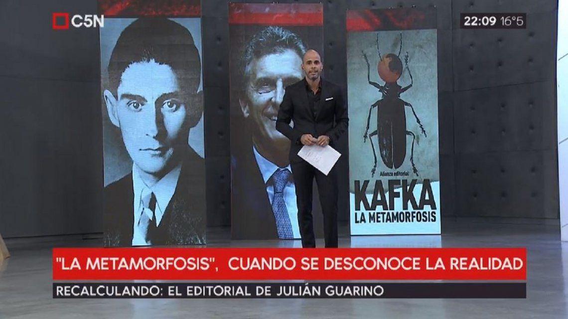 La Metamorfosis de Kafka en la Argentina de hoy: el contundente editorial de Julián Guarino