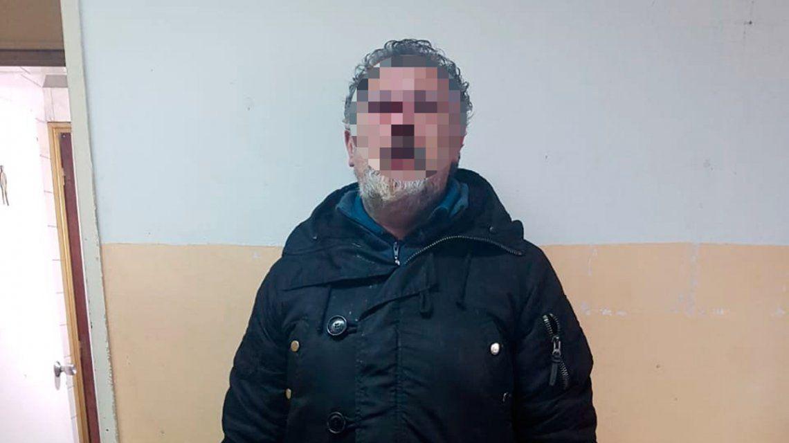 Detuvieron al hombre acusado de abusar de una kiosquera en Lomas del Mirador
