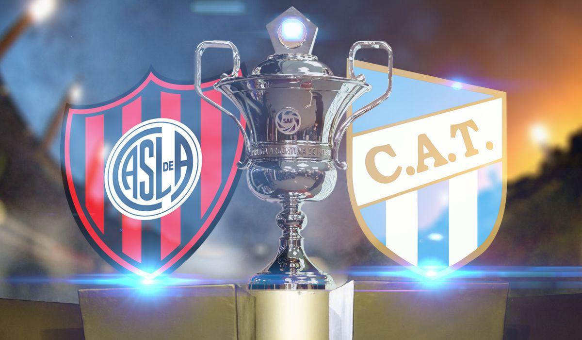 San Lorenzo vs Atlético Tucumán: formaciones, horario y TV