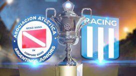 Argentinos Juniors vs Racing: formaciones