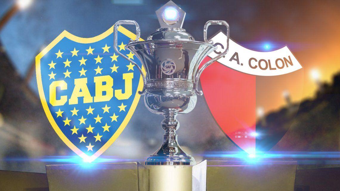 Boca vs Colón: formaciones, horario y TV