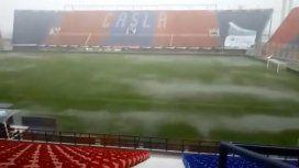 Suspendieron el partido entre San Lorenzo y Atlético Tucumán por la tormenta