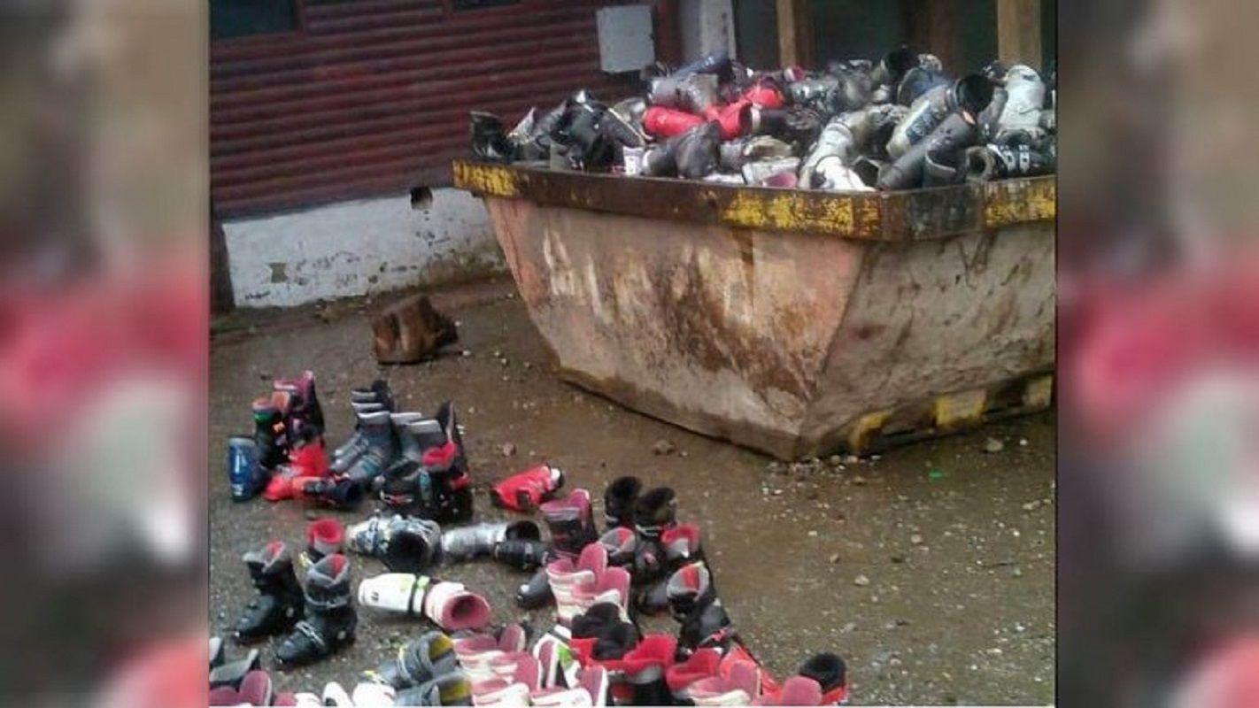 Estos son los patines que tiró