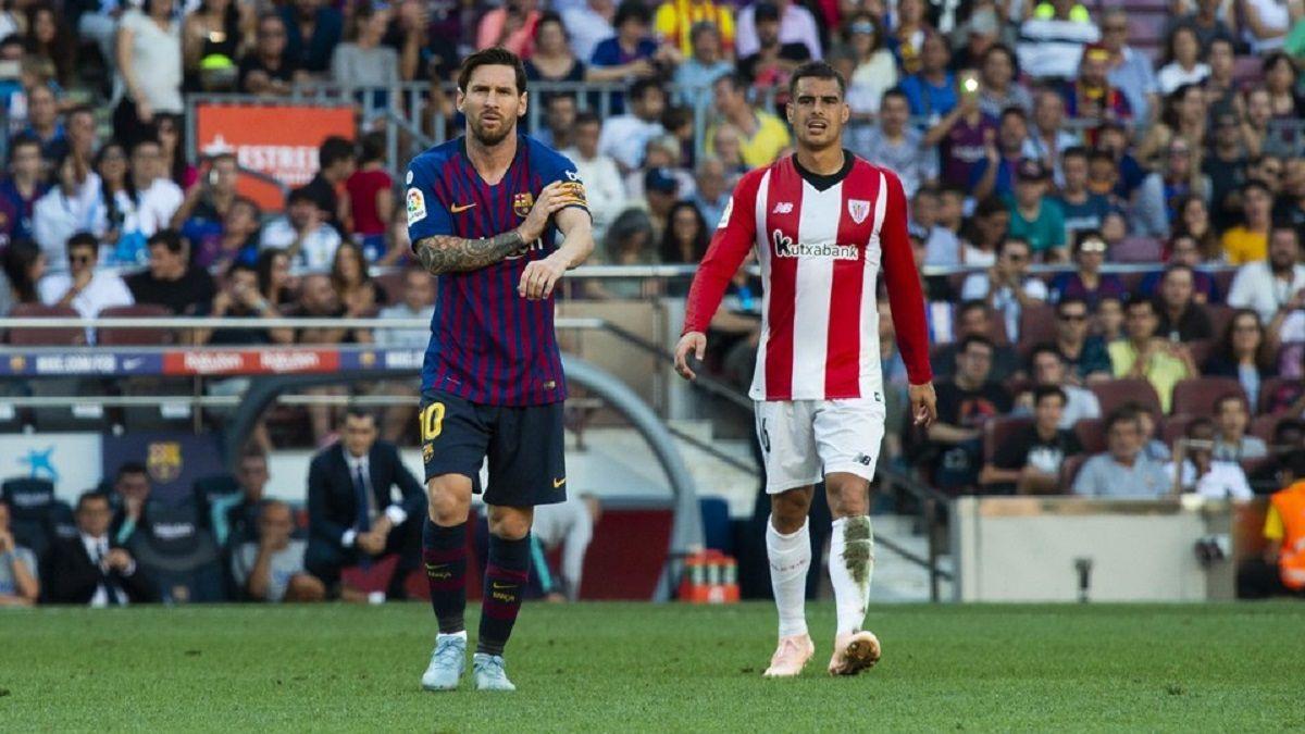Messi en Barcelona vs Athletic Bilbao - Crédito: Víctor Salgado/fcbarcelona.es